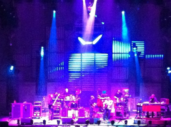Damned if it ain't the good ol'  String Cheese Incident at the Greek. Still wiggly after all these years.