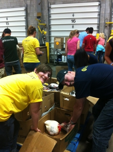 #HOBY #NYE at Regional Food Bank. 