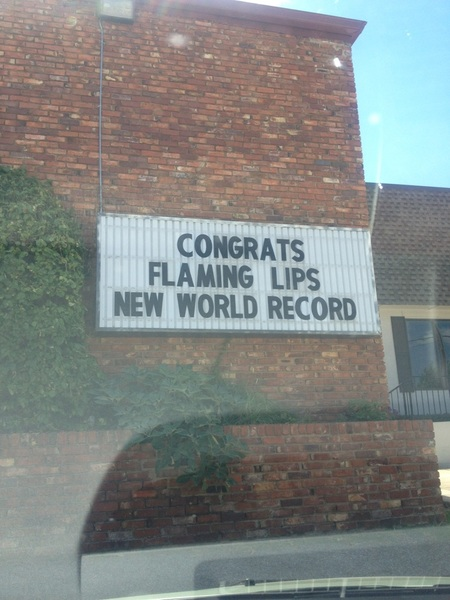 Sign at Flip's in OKC!!!!! Ha ha!!! Thank you !!!!!!
