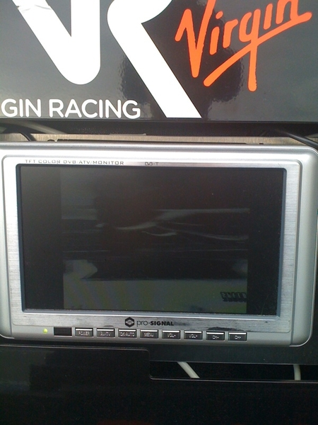 Gps is back now btw. I seem to have le mans on my monitor here but it&#039;s upside down!