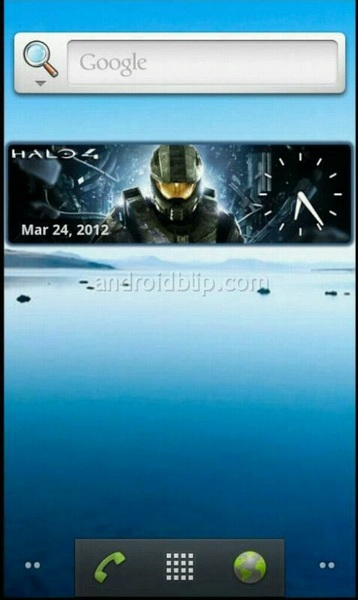 ATTENTION: I just added this #Halo4 clock on my phone. Goes nice with @bsangel Spartan background. WOOOOO #HALO! LOL!