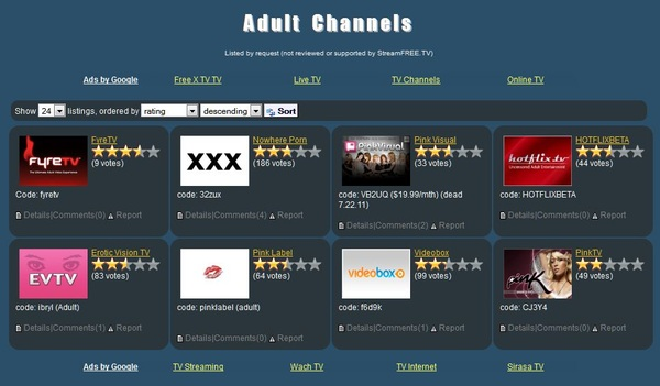 Who has the highest rated @RokuPlayer adult channel according to streamfree.tv? We do, so thanks to you!