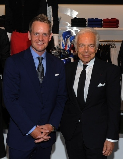 Great evening benefitting  @TheFirstTee last night with Ralph Lauren, such an icon and gentleman #RLX