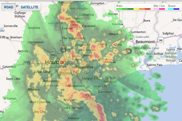 houston weather on radar