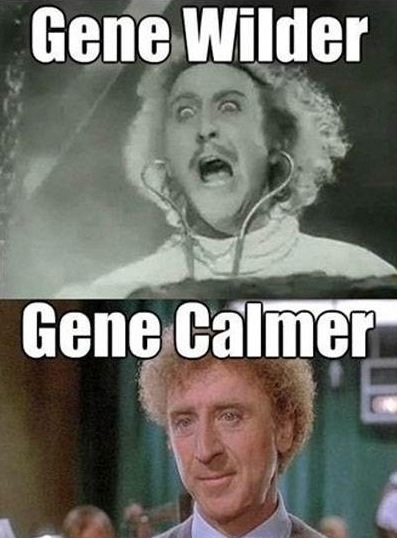 Punny Gene, punny. 
