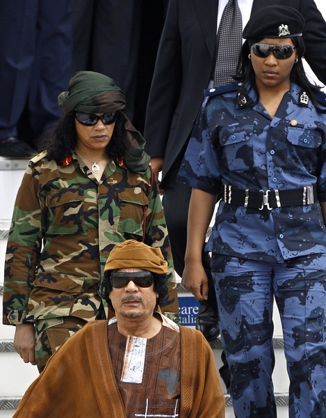 5= #Gaddafi's virgin female guar