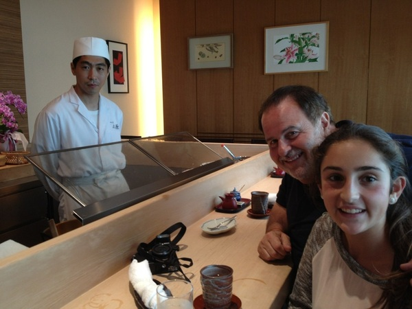 Great lunch at Kondo yesterday. Spectacular tempura in Ginza