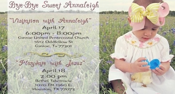The details for sweet Annaleigh