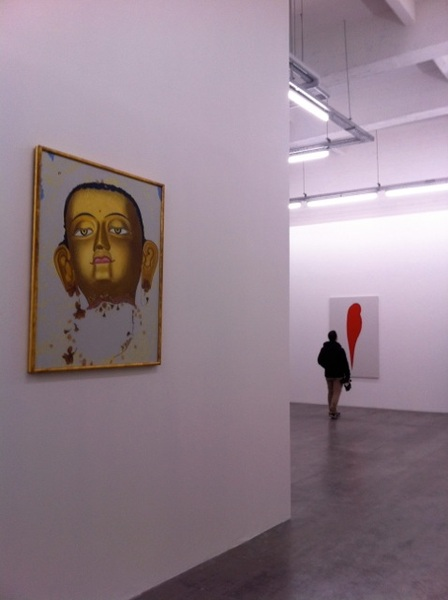 """""""Apperception"""", overzichtstentoonstelling van Daan van Golden bij WIELS, Brussel..."""