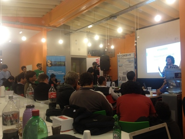 @nxtplabs in #Palermo  #argentina at #hackday event #workification - love it! @workino - works on top of project management systems. #goap