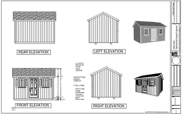 Garden Shed Plans Pdf