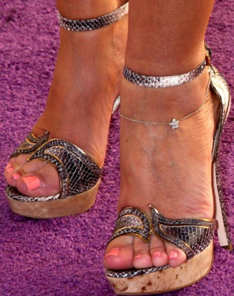 Think, that leah remini feet