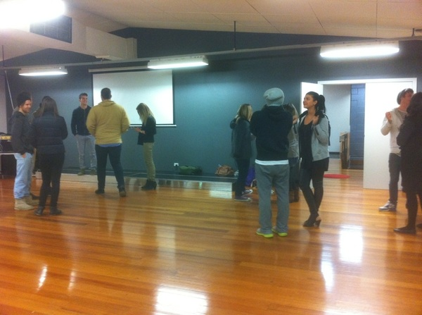 BOOM prayer meeting is about to kick off. God is doing good things! we have the best team in the world #changeacity