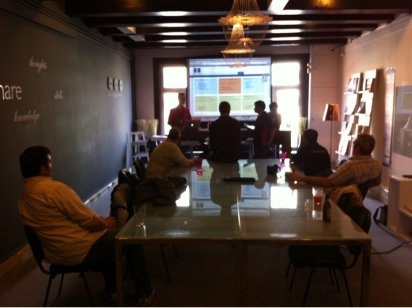 #jab11 after party meetup in Joomla Competence Center in Amsterdam