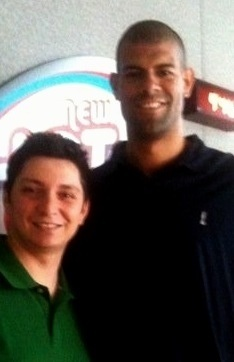 My boy @ShaneBattier... Handle your business playa! #NBAFinals