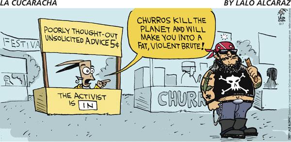 Have la cucaracha comic strip final