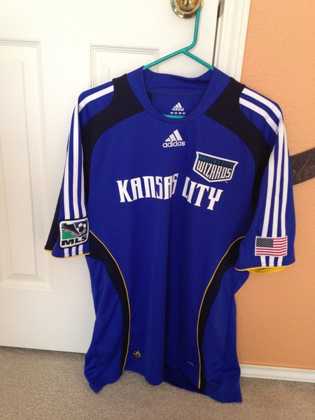 @SwapOfTheTable KC Wizards authentic Adidas L #swapofthetable