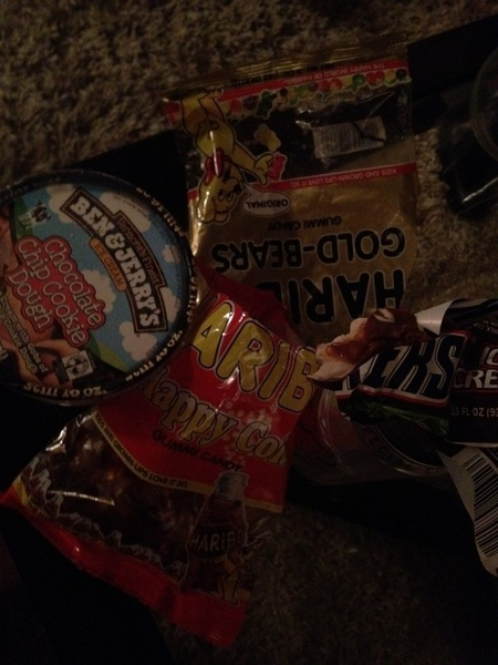 Junk food binge #fuckyeah 