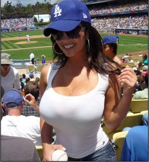 #big #boobs for the dodgers