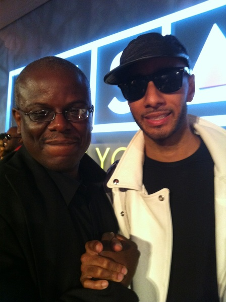Two of the years BIGGEST WINNERS last year at SESAC! First @TheRealSwizzz --&gt;