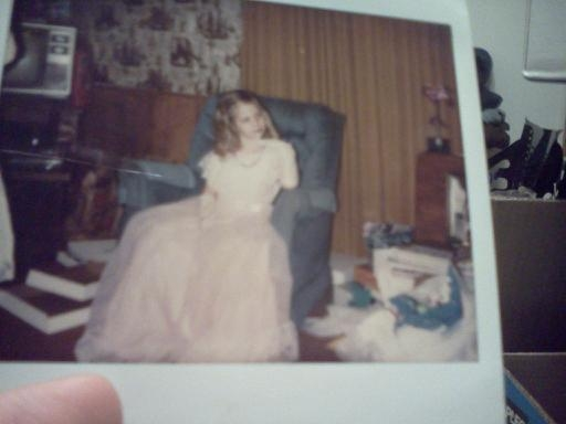 Check me out when I was a 5 yr old prissy princess. lol.