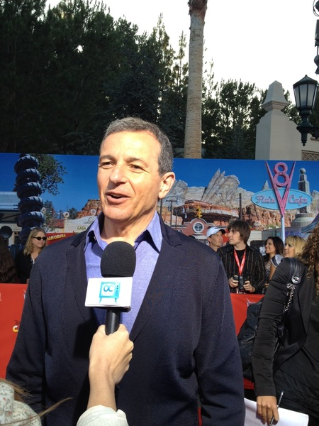 Bob iger #carsland red carpet
