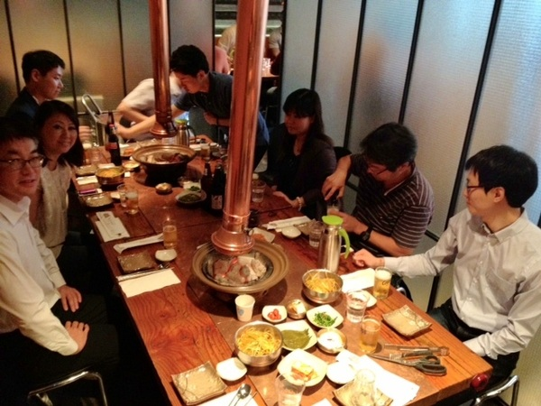 Great Korean BBQ with #aws customers in Seoul