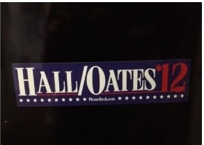 @dvictory99 @BIGJOEONTHEGO got my bumper sticker today. #hallandoates12