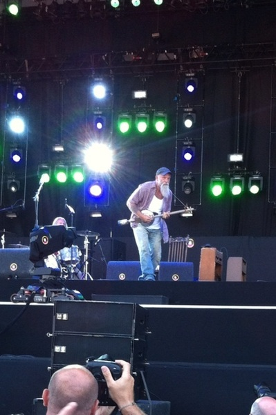 Yeahhhh I &lt;3 #SeasickSteve #pp12 