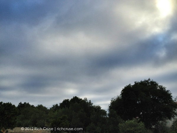 The sky in #Vista right now! #iphone4s photo 