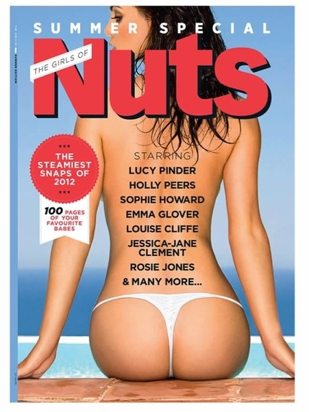 So excited I can share my news with you! I'm on the cover of @nuts_official Summer Special RT