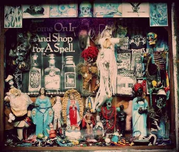 A Voodoo Queen&#039;s version of a chemists in New Orleans - exquisite! 
