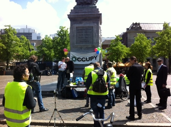 Dag van de Vereniging / #ReOccupy / #ReLoad commenced - Pic taken by @EdgarNeo #DDV #12MNL #15M