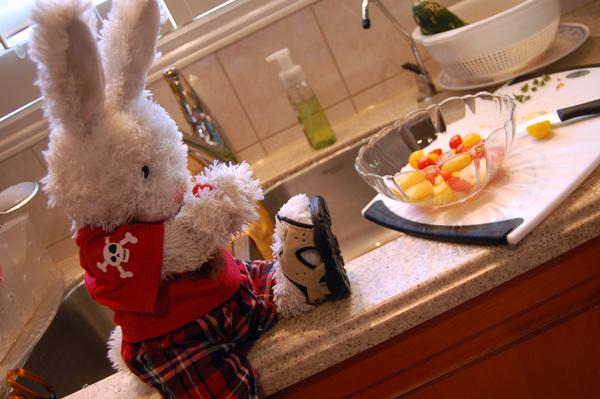 Rufus: uhm... #cooking #cookinwifrabbits