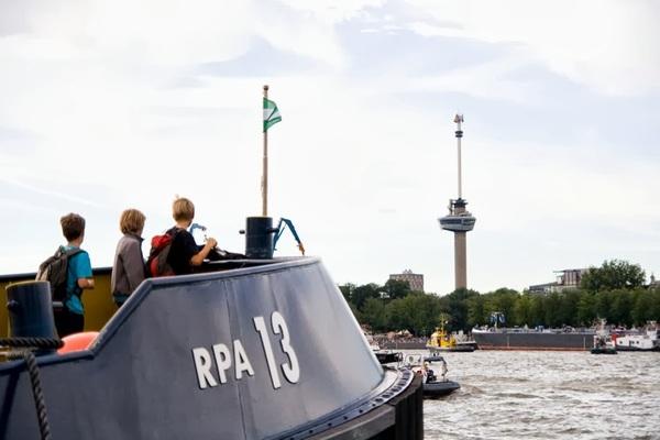 De drie musketiers in #Rotterdam. #wereldhavendagen