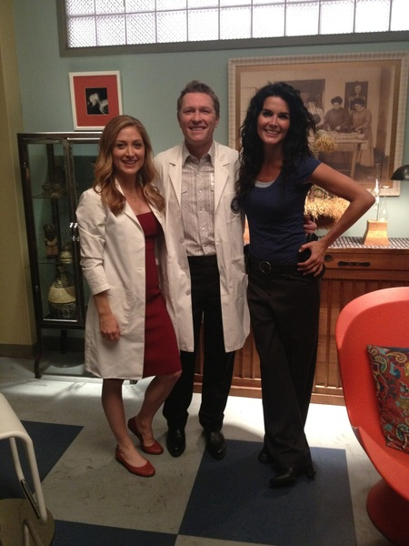 Had an awesome time on the set of Rizzoli and Isles