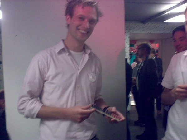 look @rvdelzen be happy with the pitch award, almost too heavy to  lift ;)