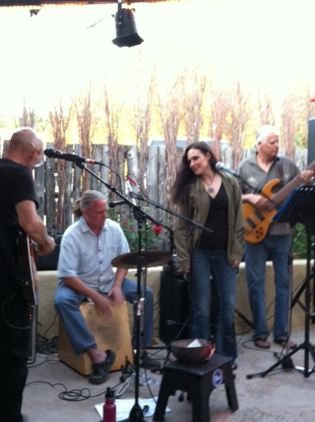 Sabroso in #Taos Jennifer Peterson w/ Don Con Trio #nm #