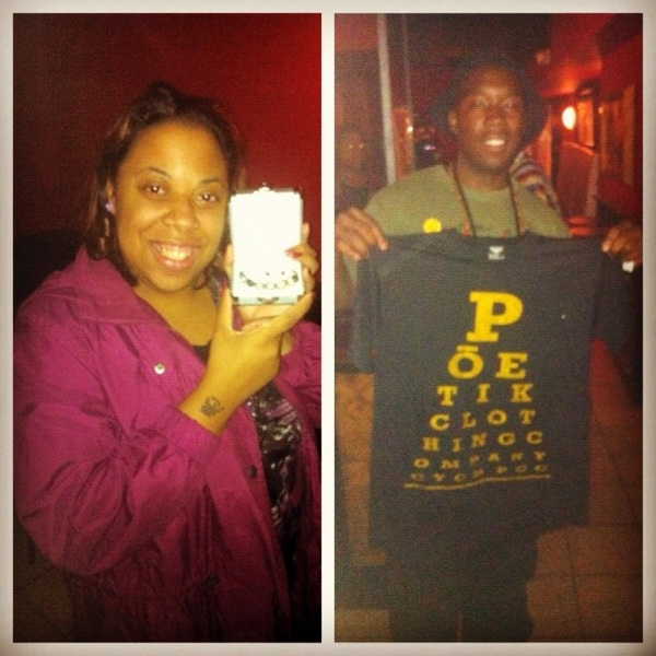 S/O to Our 1st and 2nd Place #Raffle #Winners at The Rising Stars Artist Showcase #picstitch | #poetikempire | www.poetikclothingcompany.com