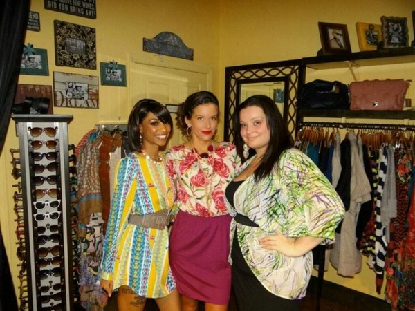 Frannies Fashion show =) -so far from the norm-