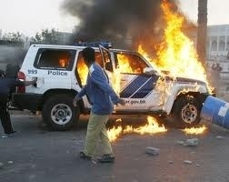 "#UK we know how you're feeling, we've been through it! #UKriots #Londonriots  Pic3 of #Bahrain ""peaceful protests"""