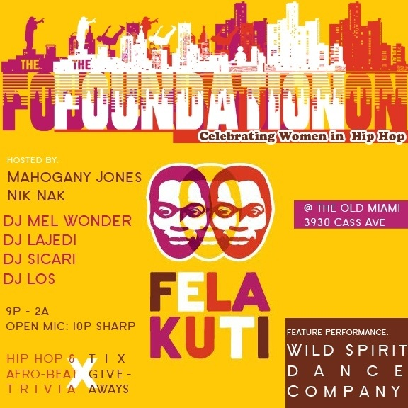#Detroit #theFoundation of @5egallery supports the FELA show @ The Music Hall! Come win Tix 2moro @ the Old Miami.