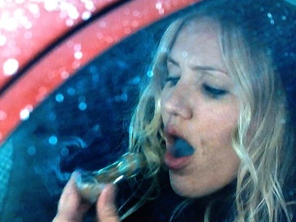 Cameron Diaz Smoking Weed