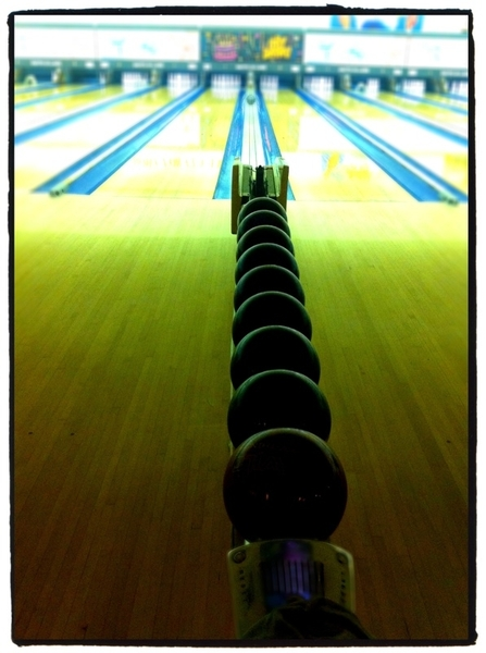 Bowling league nite!!!!