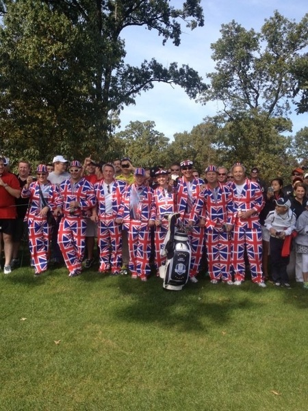 Re-placement caddies for the week if needed!!   #RyderCup  #TeamEurope