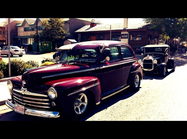 Some sweet classic rides in #Canmore today!!