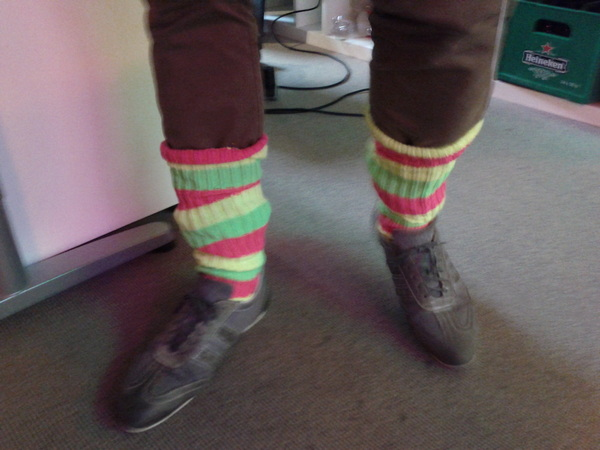 Put on your #80's socks at @netsociety #TGIF
