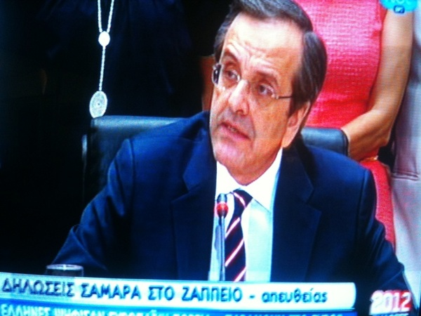 "#Samaras: "" #Greece has voted to remain in the #euro; this is a victory for all #Europe"" #euco #epp"