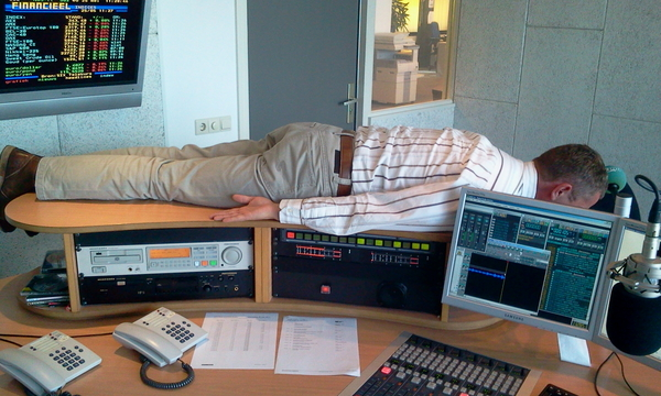 #planking in de studio #overijsselshart
