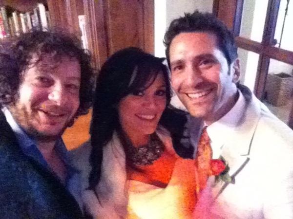 Yes. So so happy for my pal/director Jay and his lovely wife Professor Monica RT @capitalV were u at Jay Karas wedding?
